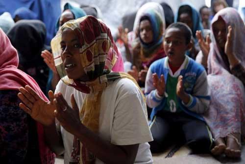 Eritrean and Ethiopian Christians